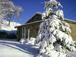 Le Bouteirou sous la neige ...
